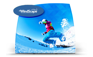 pop-up trade show display - windscape®  - the power of air