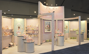 trade show display backwalls and towers - custom look, modular savings