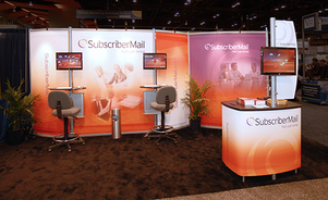trade show display backwalls and towers - structural support