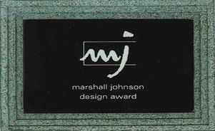 Marshall Johnson Design Award