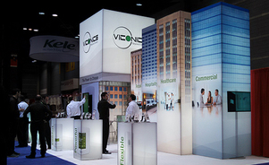 trade show display backwalls and towers - towers attract!