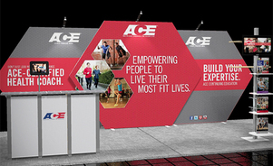 trade show display backwalls and towers - PictureScape® exhibit system