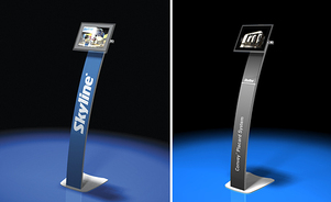 trade show events exhibits convey placard