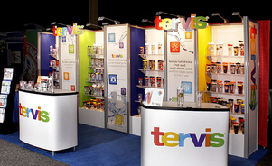 trade show events exhibits tube ultra merchandising