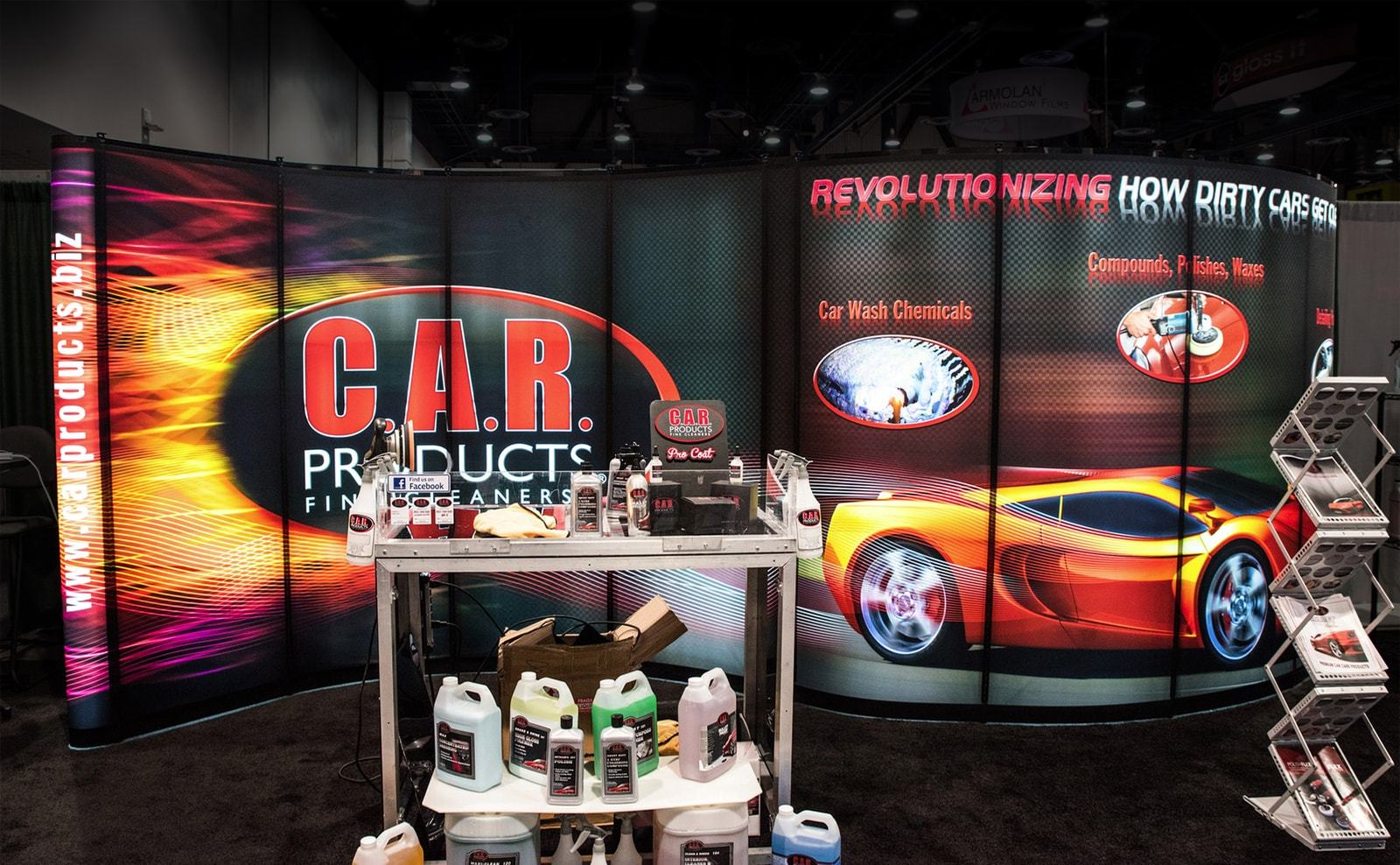Exhibition Stand Items : Backlit trade show displays bright ideas for toronto