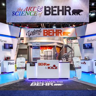 Trade Show Booth Design Ideas photo 5112 1010 Behr Behr Trade Show Exhibit