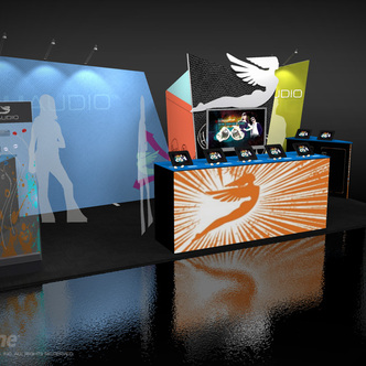 JH Audio Inline Exhibit Design
