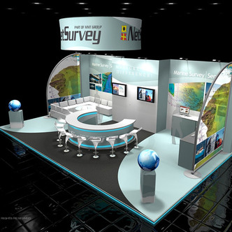 NetSurvey Island Exhibit
