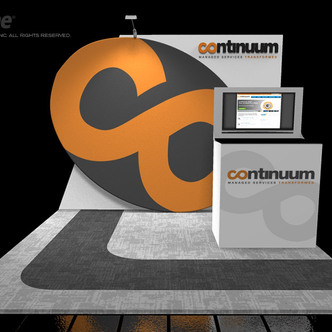 Continuum Inline Exhibit - 10' (3m)