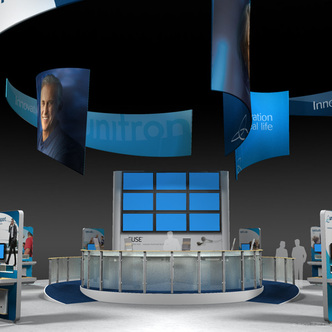 Unitron Island Exhibit