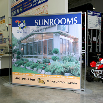 ABC Seamless Modular Retail Exhibit and Graphics