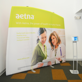 Aetna WindScape Booth - Yellow