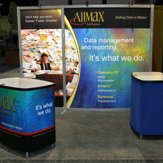 Allmax Software Modular Inline Exhibits