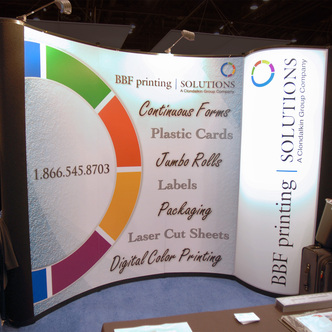 BBF Printing Solutions Pop-Up Display