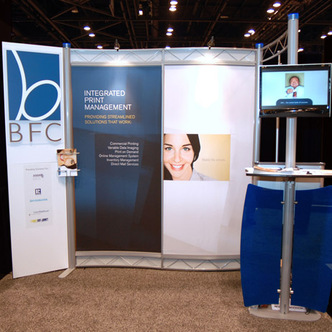 BFC Integrated Print Management Inline Exhibit