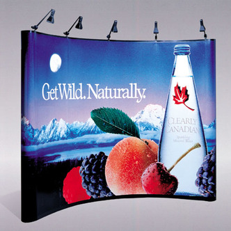 Clearly Canadian Pop-Up Display