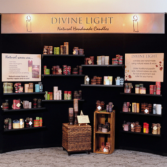 Divine Light Portable Merchandising Display