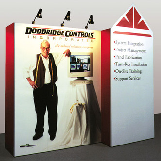 Doddridge Controls Trade Show Booth