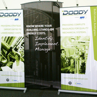 Doody Banner Stand Displays