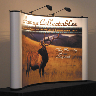 Heritage Collectibles Tabletop Display