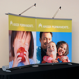 Kaiser Permanente Banner Stand Tabletop Displays