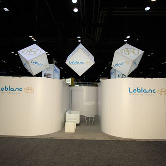 Leblanc Rental Trade Show Exhibit