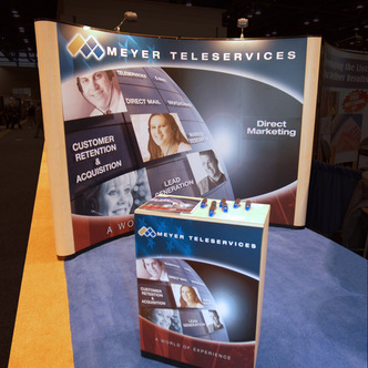 Meyer Teleservices Pop-Up Tradeshow Display