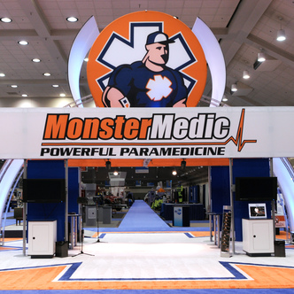 Monster Medic Island Exhibit