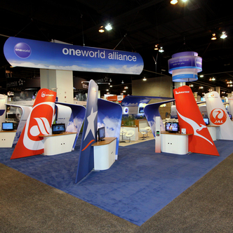OneWorld Alliance Island Exhibit
