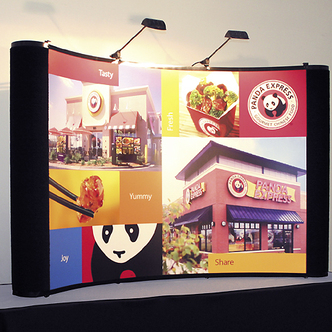 Panda Express Tabletop TRade Show Display and Graphic
