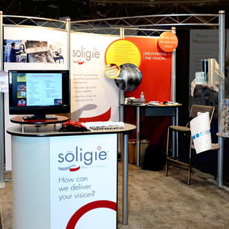 Soligie Print Electronics Inline Exhibit