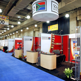 South Africa Trade Event Exhibit