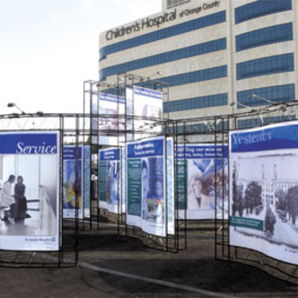 St. Joseph's Hospital Event Exhibit