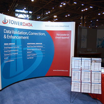 Tower Data PopUp Tradeshow Display