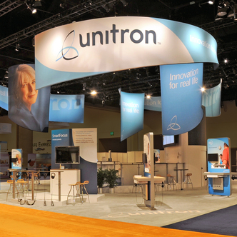 Unitron Large Island Exhibit