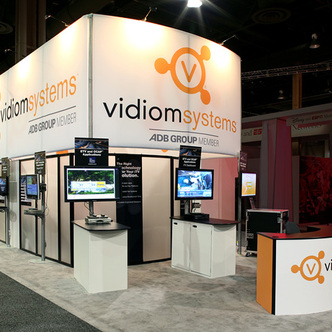 Vidiom Systems Island Exhibit