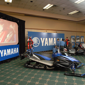 Yamaha Event Exhibit