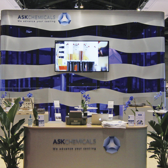 ASK Chemical Island Trade Show Exhibit