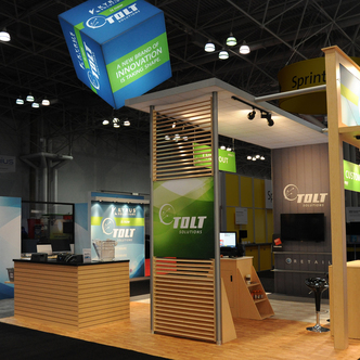 Tolt Solutions Custom Trade Show Exhibit Design