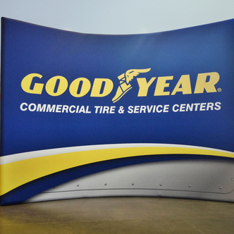 Goodyear WindScape tradeshow Display