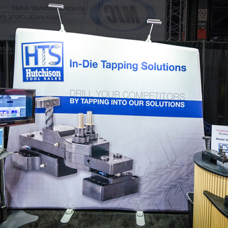 HTS Portable WindScape Trade Show Display