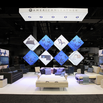American Leather Trade Show Exhibit Design