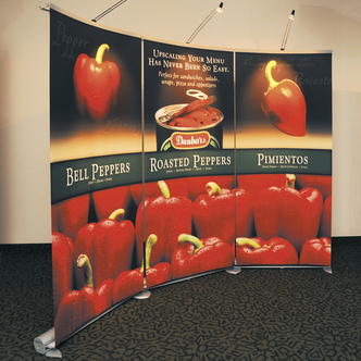 Dunbar Portable Banner Stand Display