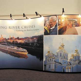 Viking River Cruise Mirage Display