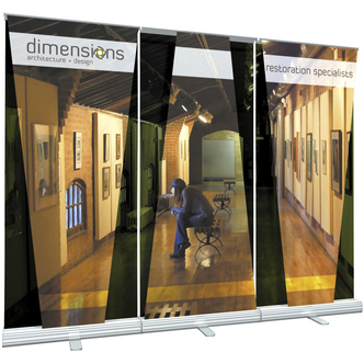 Dimensions Portable Trade Show Banner Stand