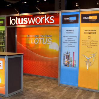 Lotusworks Trade Show Exhibit Design