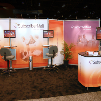 SubscriberMail Trade Show Exhibit Design