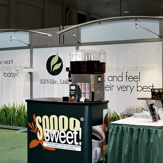 EZville Trade Show Exhibit Design