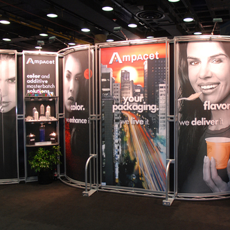 Ampacet Inline Exhibit Design