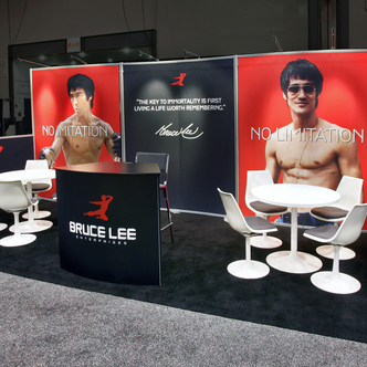 Bruce Lee Modular Inline Trade Show Exhibit